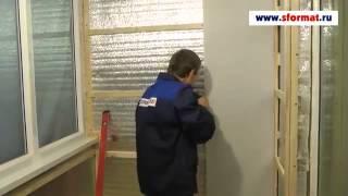 Отделка стен панелями ПВХ на лоджии(Подробности на сайте http://www.sformat.ru/catalog/paneli-... Панели ПВХ - превосходный отделочный материал, который не требу..., 2014-04-24T19:11:36.000Z)