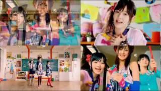 Kiss! Kiss! Kiss!~ Buono! | ボーノ - 3er single Video que contiene los 4 videos promocionales del single, el PV, Dance Shot, Close Up y Band Version, ...
