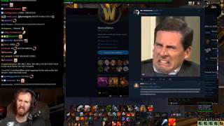 Asmongold Loses His Mind Over a Tweet From the Warcraft Devs Regarding Azerite Knowledge thumbnail