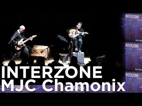 INTERZONE Serge Teyssot-Gay Khaled AlJaramani Concert Live Musique MJC Chamonix Mont-Blanc