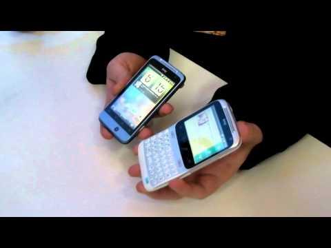 Взгляд на  смартфоны Facebook - HTC Salsa и HTC ChaCha от Droider.ru