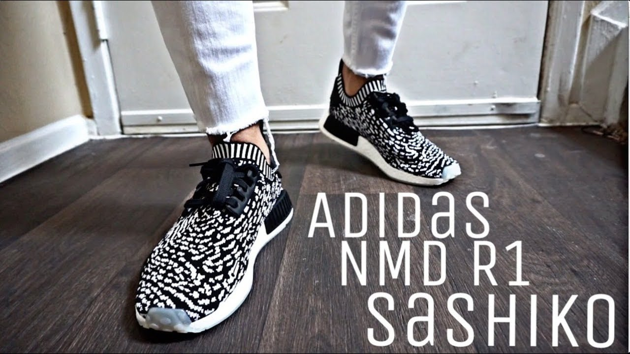 233879bc5588a Adidas NMD R1 PK Sashiko Review - YouTube