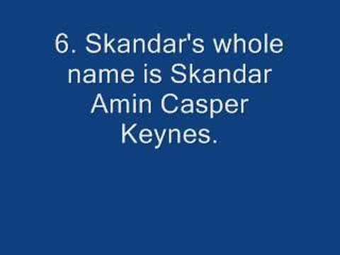 10 Skandar Keynes Facts