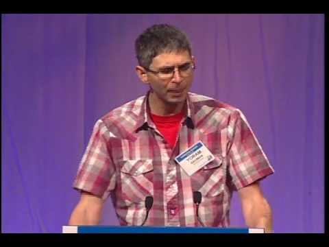 Yoram Bauman, the Stand-Up Economist at the 9th Oregon Business Plan Leadership Summit