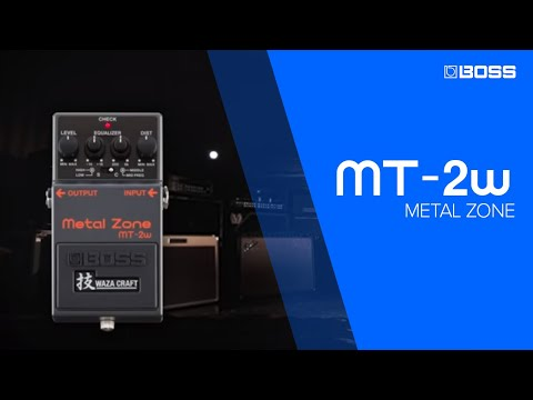 BOSS MT-2W Metal Zone Sound Examples