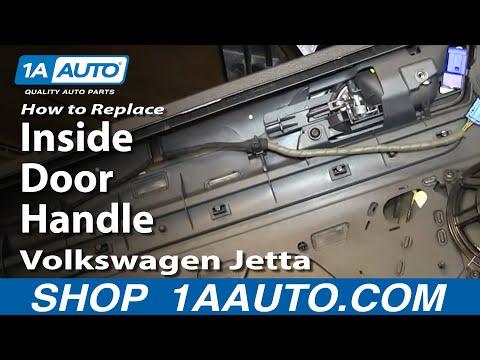 How to Replace Front Inside Door Handle 05-10 Volkswagen Jetta