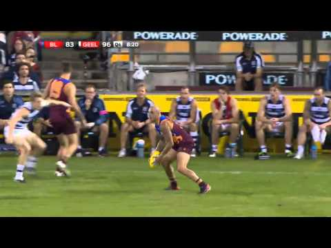 Brisbane Lions v Geelong Cats - AFL Round 13, 2013 - Q4