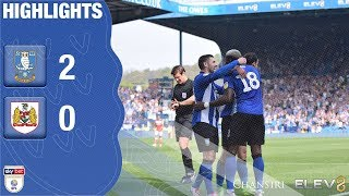 Sheffield Wednesday 2 Bristol City 0 | Extended highlights | 2018/19