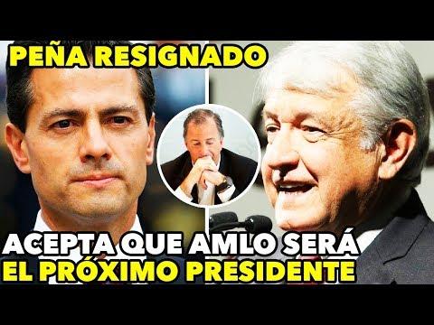 Peña Nieto ve INVENCIBLE a López Obrador y lo empieza a RESPETAR