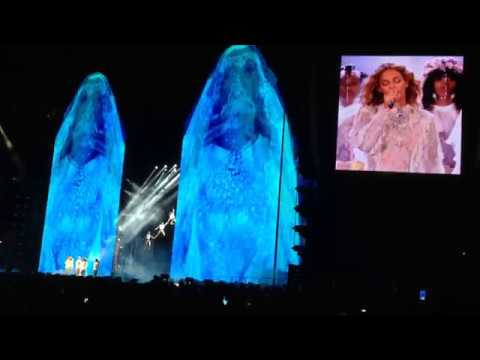 Beyoncé - Mine / Baby Boy/ Hold up  The Formation World Tour New York 6/8/2016