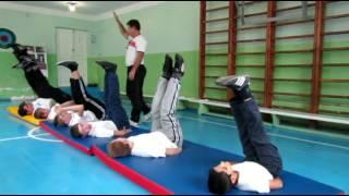 Открытый урок по физкультуре