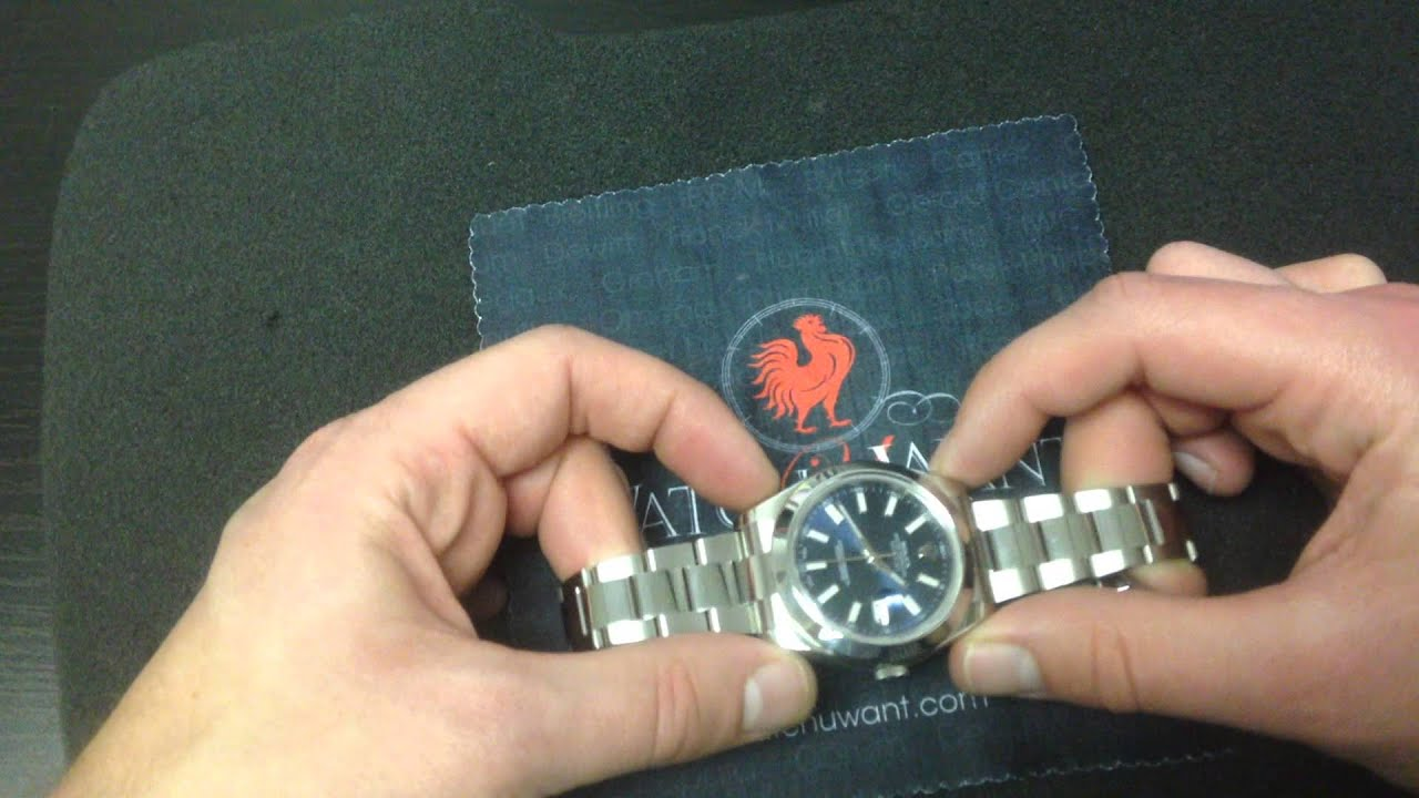 6b7b241cad0 Rolex Datejust II 116300 Luxury Watch Review - YouTube