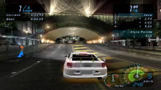 NFS Underground Gameplay (PC)