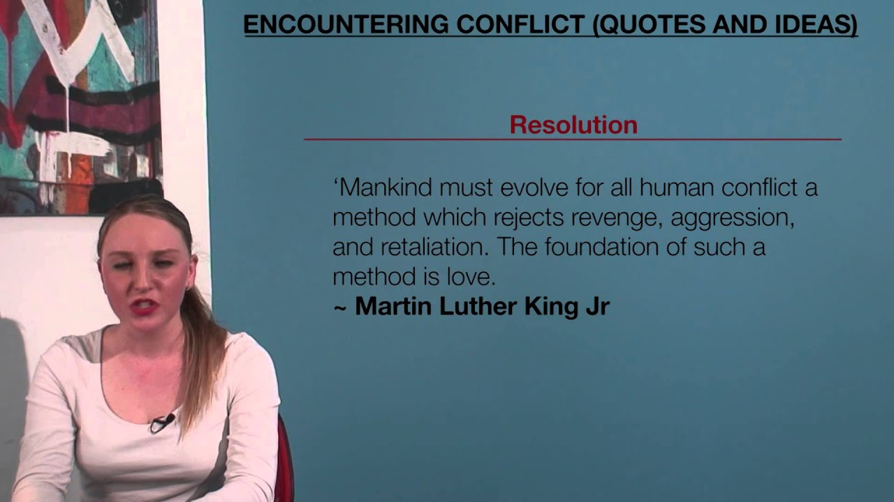 vce english encountering conflict quotes and ideas vce english encountering conflict quotes and ideas