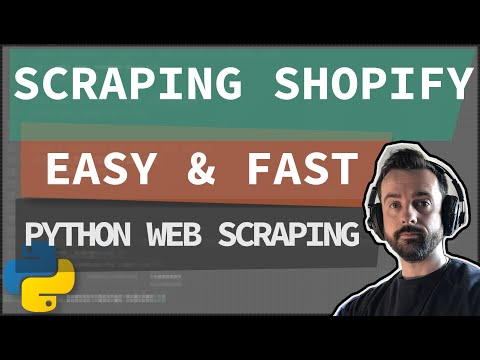 Web scraping Shopify - easily download all products