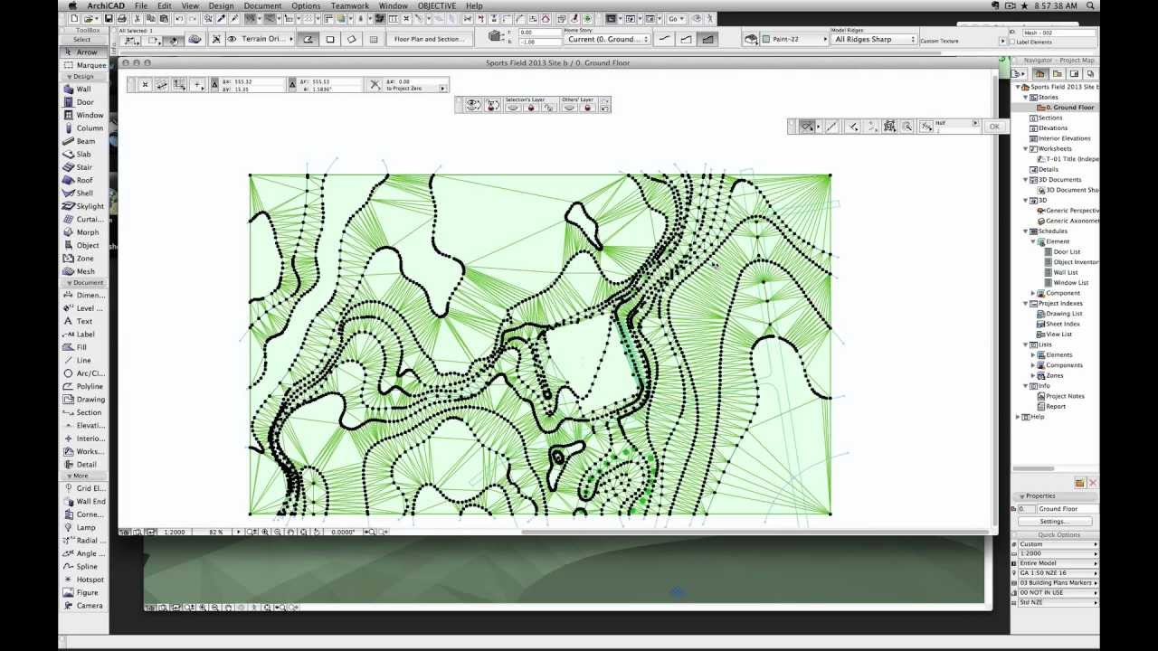 Archicad Tutorial: How To Create Contour Lines