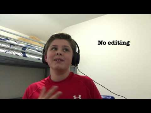 Kid raps faster than Mac Lethal and Watsky!