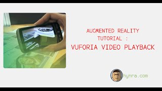Repeat youtube video Augmented Reality Tutorial : Vuforia Video Playback