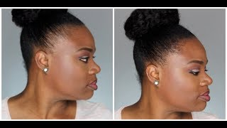 How To Cover Thin Edges Or Bald Spot Instantly | Kertine Tutorial | NeesieDoesiT