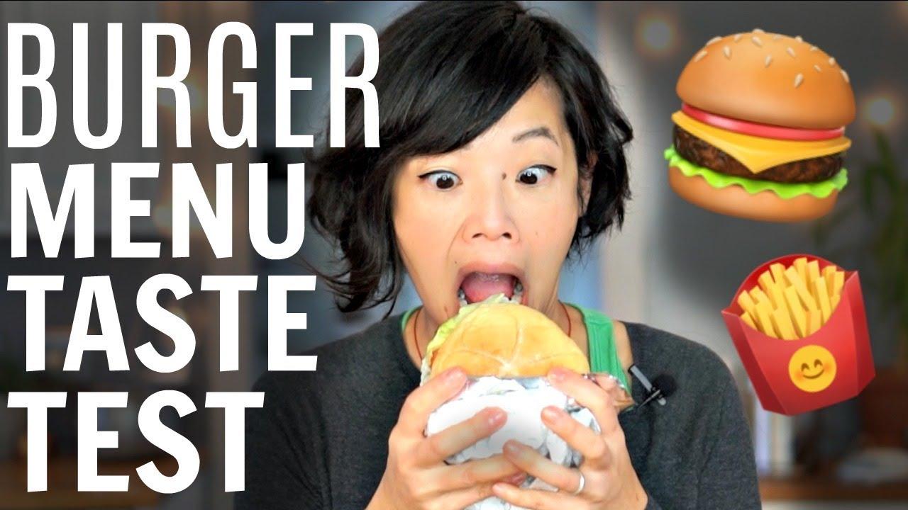 burger menu taste test youtube. Black Bedroom Furniture Sets. Home Design Ideas