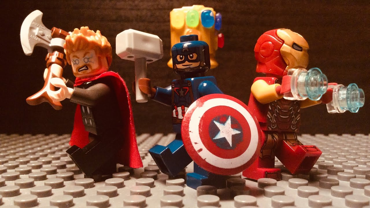 Lego Avengers Endgame Final Battle - YouTube