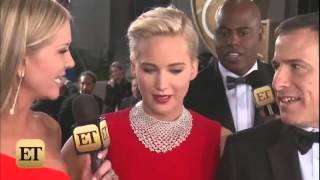 Jennifer Lawrence At The Golden Globes 2016 !!!
