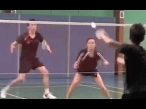 混双 Badminton Mixed Doubles 1