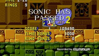 Sonic The Hedgehog Labyrinth Zone Complete I FREAKING HATE THIS ZONE!!!!