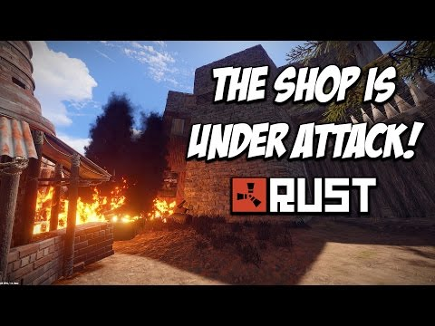 RUST | THE SHOPS UNDER ATTACK! The Shop Series! Feat. MaxMears. S5-E5