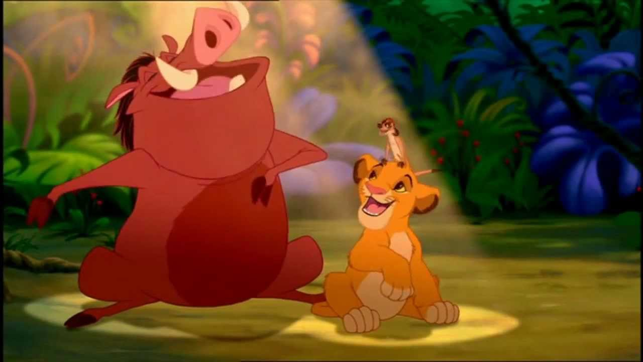 The Lion King Hakuna Matata Hd Youtube