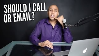 Should you call or email events to get hired? - Speaking Lifestyle