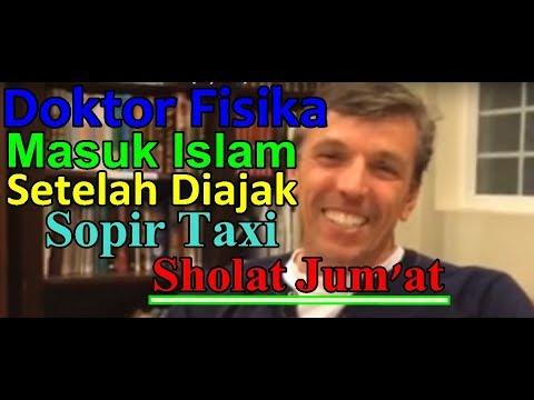 Dr Volker Enders, DOKTOR FISIKA AMERIKA MASUK ISLAM SETELAH DIAJAK SHOLAT JUMAT OLEH SOPIR TAXI
