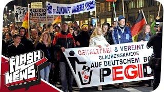 Pegida-Demo in Dresden I Baustopp für Gazprom-Pipeline I Keine Ahnung von Arbeit