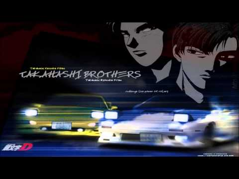 Клип Initial D - Speedy Speed Boy