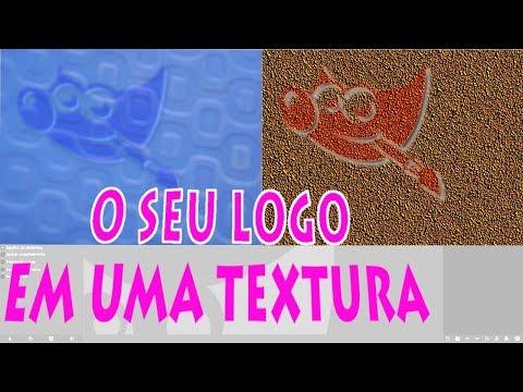 GIMP- O seu logo em uma textura thumbnail