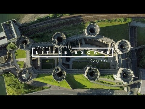 Conwy Castle // Little Escape // Episode 5 // North Wales // Drone 4K