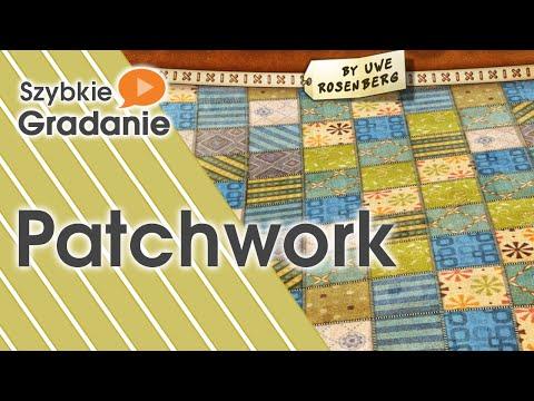 Szybkie Gradanie - Patchwork (gra planszowa)