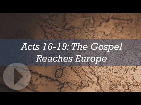 Acts 16-19: The Gospel Reaches Europe - John Lennox