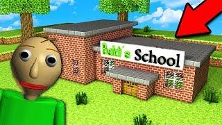 НУБ ПОБУДУВАВ ШКОЛУ ДЛЯ БАЛДИ В Майнкрафт BALDI'S BASICS Minecraft тролінг нуба Мультик для дітей
