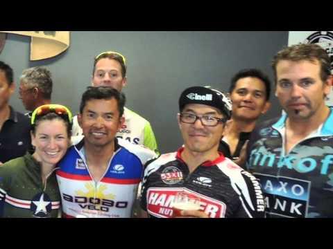 AdoboVelo Las Vegas Chapter  June Birthday Ride ... Stan, Lee, and Michael Bower June 13, 2015