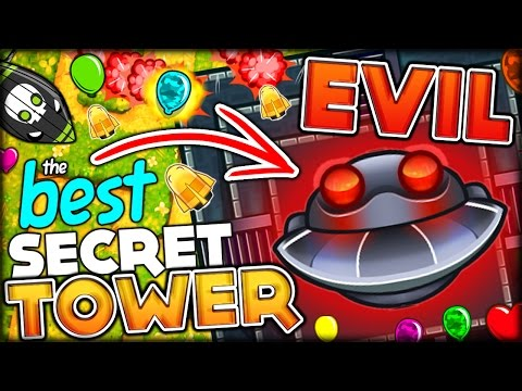 THE MOST OVERPOWERED TOWER EVER!! DARK TEMPLE OF THE MONKEY GOD (Bloons Tower Defense 5/Bloons TD 5)