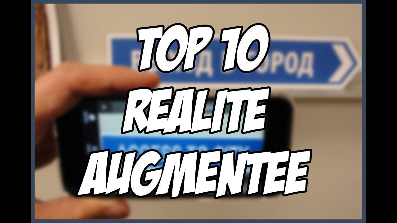 top 10 des meilleures applications de r alit augment e pour ios et android youtube. Black Bedroom Furniture Sets. Home Design Ideas
