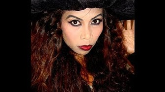 Simple Wicked Witch Hair and Make-up Tutorial