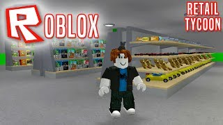 GREAT SHOP WITH ALL ITEMS! -Roblox Retail Tycoon English Ep 4/English Roblox