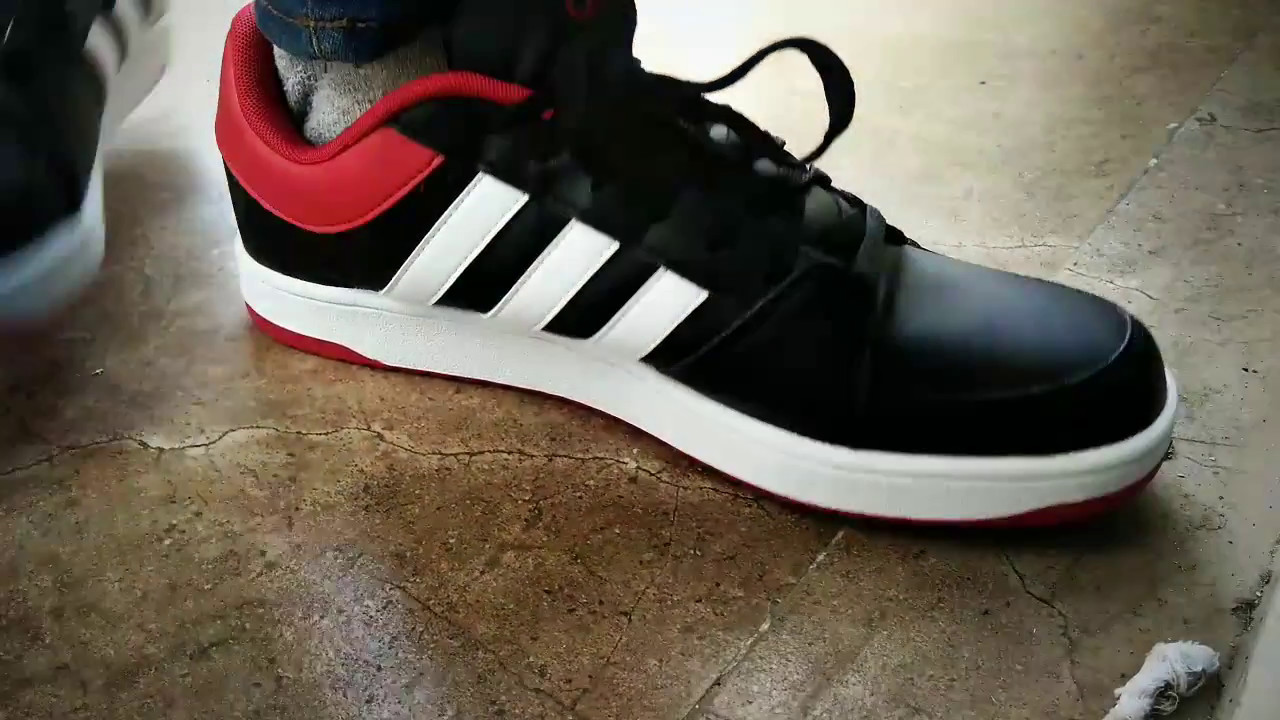 new products 9119d 654e1 Unboxing of Adidas NEO Men Black Solid HOOPS .