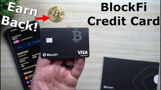 The Best Credit Card That Earns You Bitcoin Back - BlockFi Credit Card