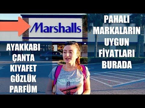 Amerika'da Alışveriş  | Marshalls