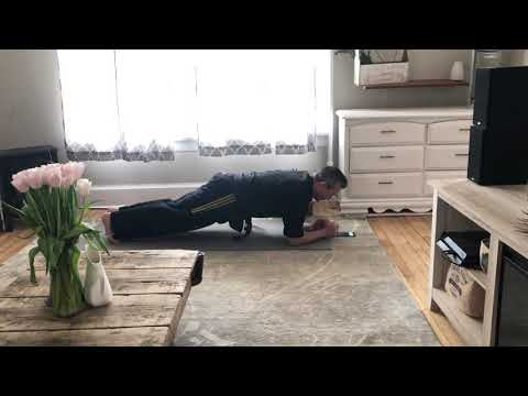 Training From Home - Multi Plank