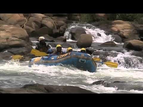 White Water Rafting on the River Nile in Jinja, Uganda