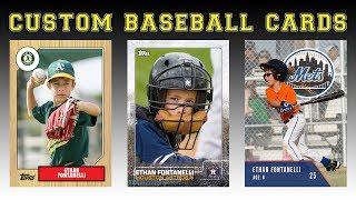 Créer Vos Propres Cartes De Baseball